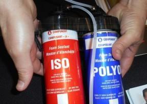 Напыляемые пенополиуретановые смеси