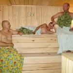 Не нарушайте правила нахождения на банной полке