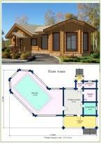 Прекрасный проект для владельцев просторных участков