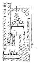 Кирпичная печь с колпаковой каменкой