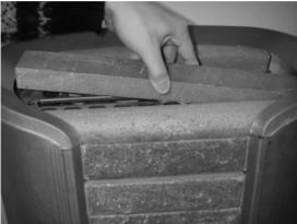 Укладка средних мыльных камней