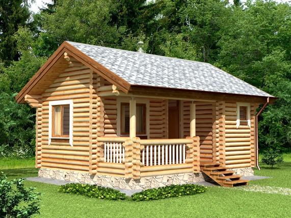 Баня-дом из сруба 35,7 м², (рис.4)