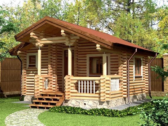 Баня-дом площадью 42,2 м² (рис. 21)