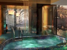 Бассейн в бане - один из вариантов