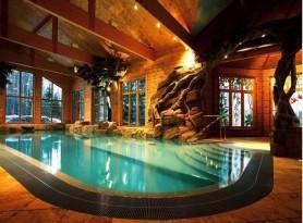Дизайн бассейна для бани