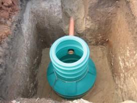 Дренажный колодец — это завершающий этап строительства дренажных систем на участке