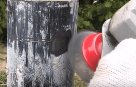 Зачистка краски