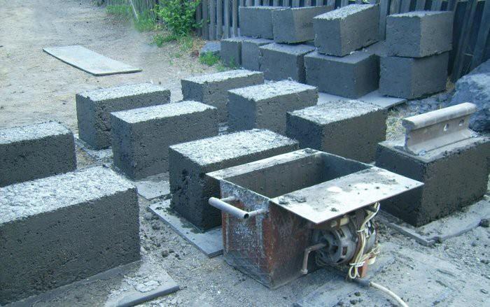 Изготовленные вручную блоки