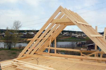 Как делается крыша бани