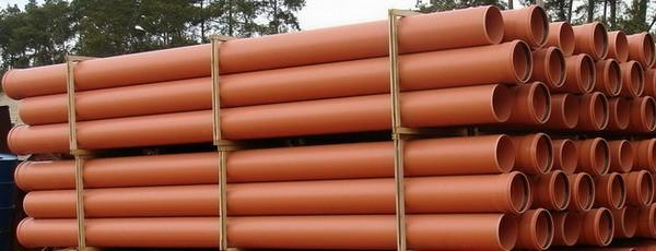 Канализационные трубы из полимерных материалов