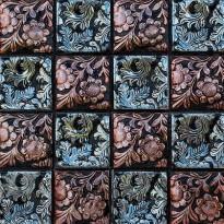 Керамическая мозаика с рисунком