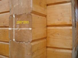 Клееный брус 200х200
