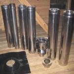 Комплект дымоходной трубы