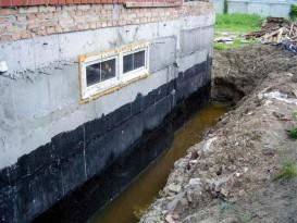 Обмазочная гидроизоляция