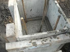 Опалубка для столбчатых фундаментов
