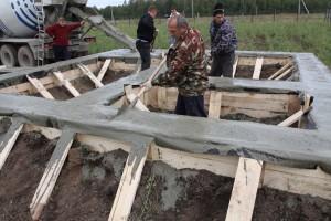 Предфинальное выравнивание бетона