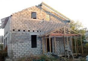 Пример крыши веранды