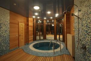 Пример моечной в бане