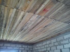 Пример обшивки потолка