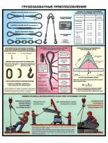 Пример плакатов по технике безопасности при проведении грузоподъемных работ