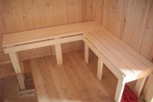 Пример простого банного полока