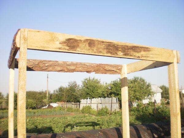 Пример сборки деревянного каркаса