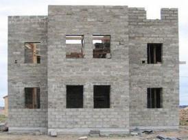 Пример сооружения с оконными перемычками, выполненными по рассмотренной технологии