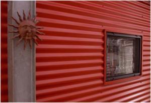Пример фасада из профлиста