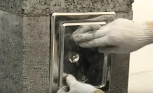 Прочистная дверца дымохода
