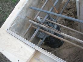 Свайно-ростверковый фундамент - фото
