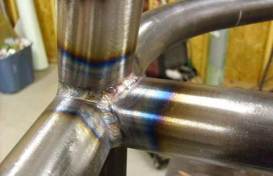 Сварка стальных труб - пример