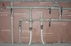 Система отопления из ПП труб