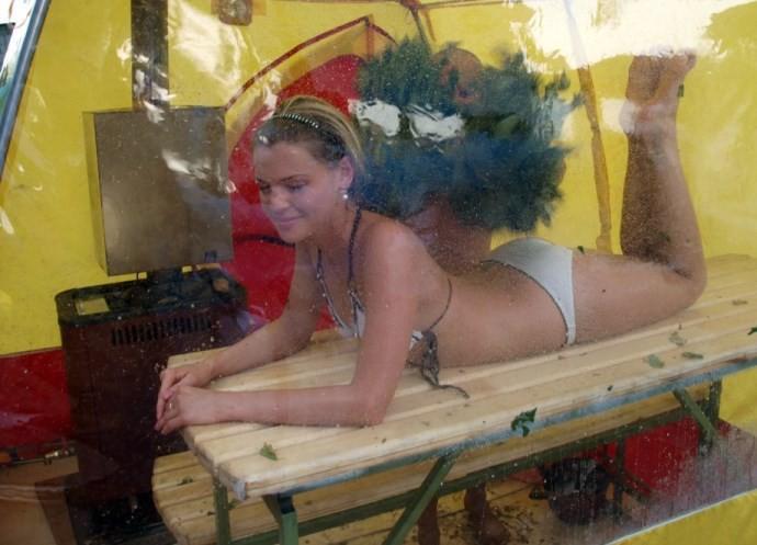 Советы по использованию походной бани
