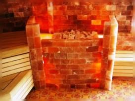 Соляная плитка в бане