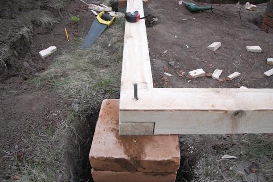 Как сделать фундамент из блоков своими руками 58