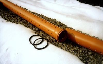 Укладка трубы