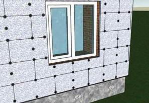 Утепление стен снаружи