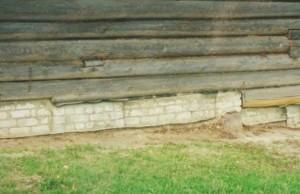 Утепление фундаментов старых домов