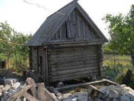 Фундамент старого сруба подлежит ремонту