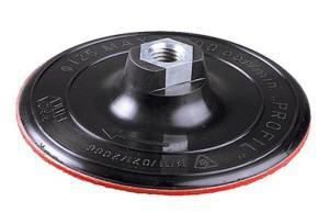 Для полировки используется опорная тарелка жесткая, войлочный диск на липучке и розовая паста