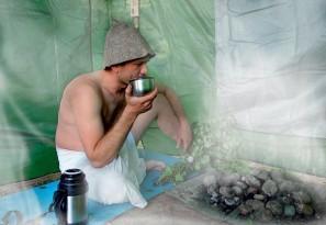 Походная баня своими руками - фото