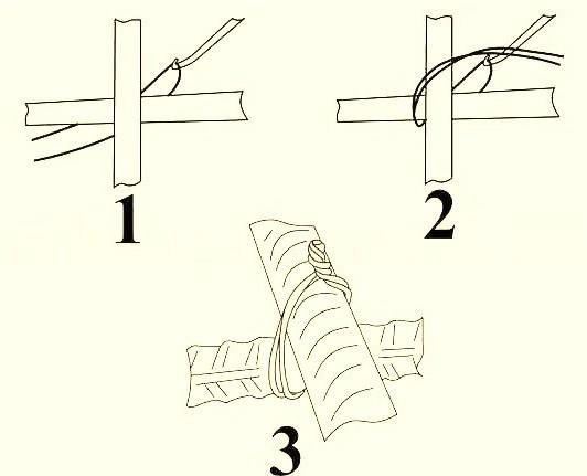 Вязка крючком арматуры