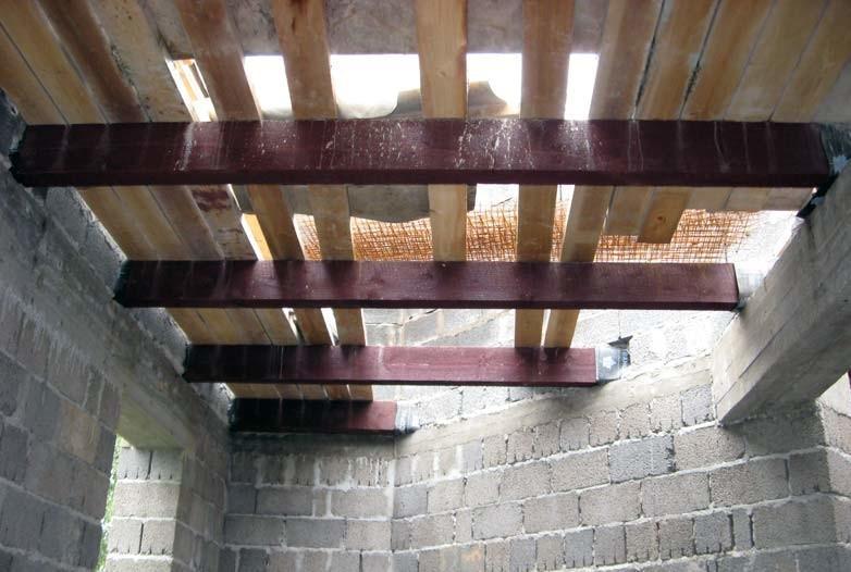 Пример перекрытия для керамзитобетонной постройки