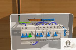 Подключение питающего кабеля