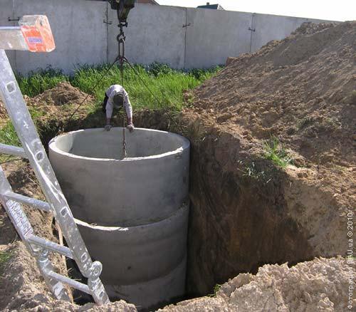 Сливной колодец - отличное решения для слива канализационных стоков