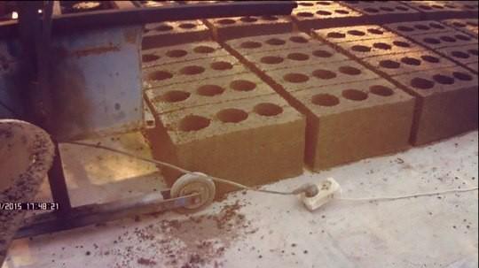 Изготовленные блоки