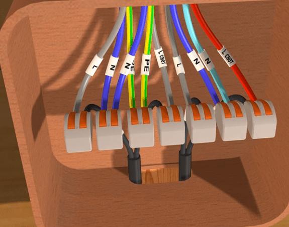 В парилке рекомендуется использовать термостойкие кабели и провода, например, РКГМ или ПРКС