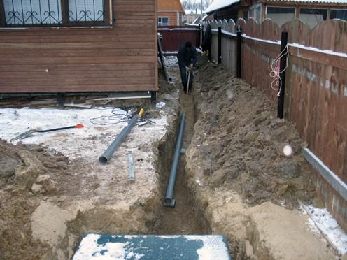 Система канализации предназначенная для круглогодичного использования