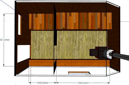 Баня внутри - проект