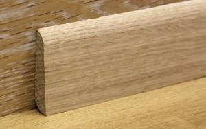 Последний штрих - деревянные плинтусы